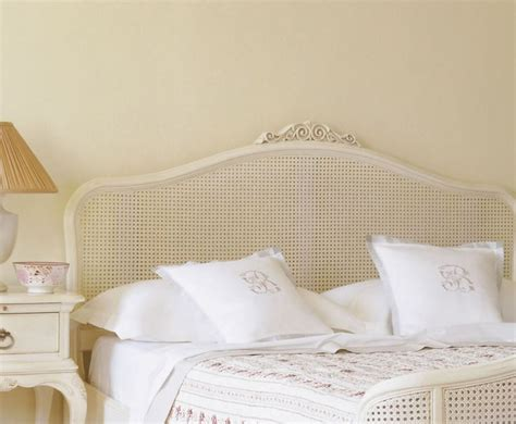 wicker headboards for king size beds wood headboards ivy painted rattan wooden headboard