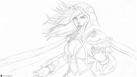 sketchbook how to draw line how to draw jaina proudmoore from world of warcraft