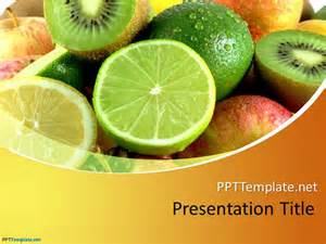 fruit templates free fruit ppt template