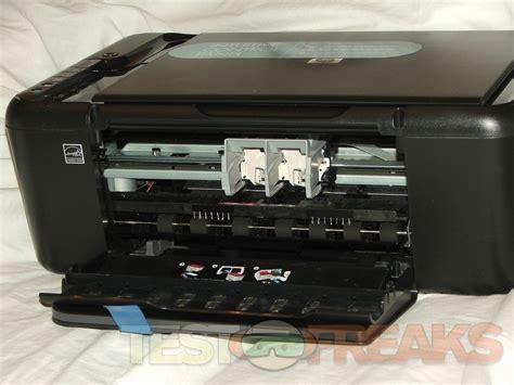 reset hp deskjet f4480 reset button review of hp deskjet f4480 all in one inkjet printer
