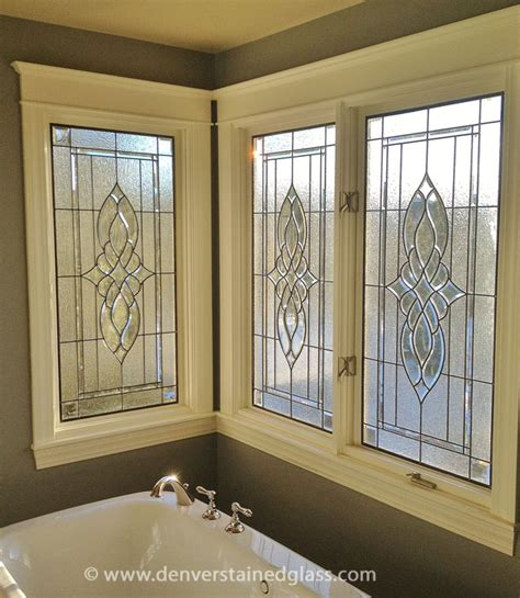 stained glass patterns for bathroom windows stained glass designs denver denver stained glass