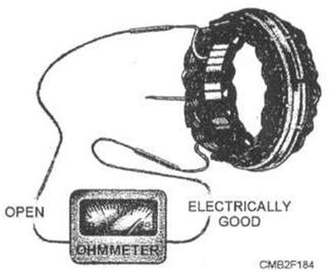 charging system test diode open alternator testing