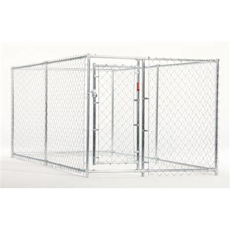 kennel kits shop 10 ft x 5 ft x 4 ft outdoor kennel box kit at lowes