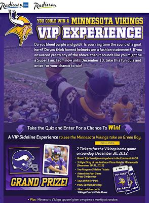Super Fan Sweepstakes - minnesota archives michael w travels