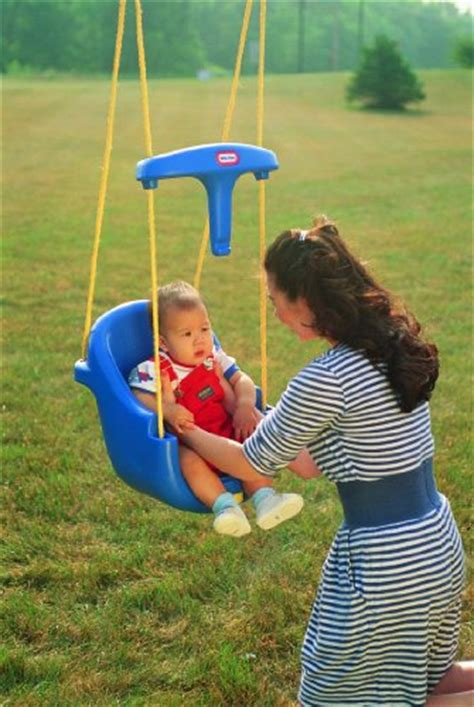 little tikes infant to toddler swing little tikes high backed toddler swing ebay