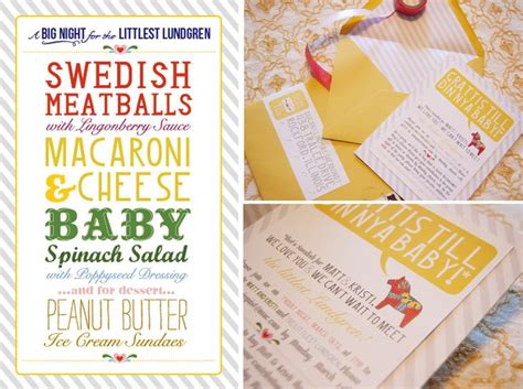 Couples Baby Shower Menu by 45 Best Images About Couples Shower Ideas Wedding And Baby