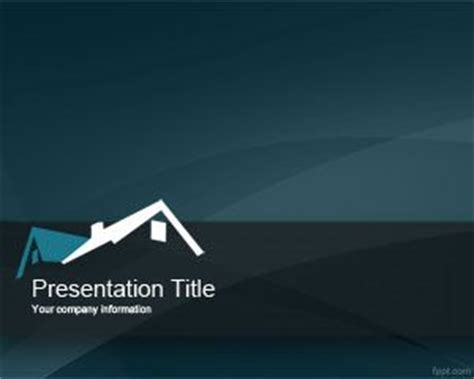 Free Realtor Powerpoint Template Powerpoint Real Estate Templates