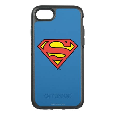 Iphone 7 Superman Kulit Pu Casing superman s shield superman logo otterbox symmetry iphone