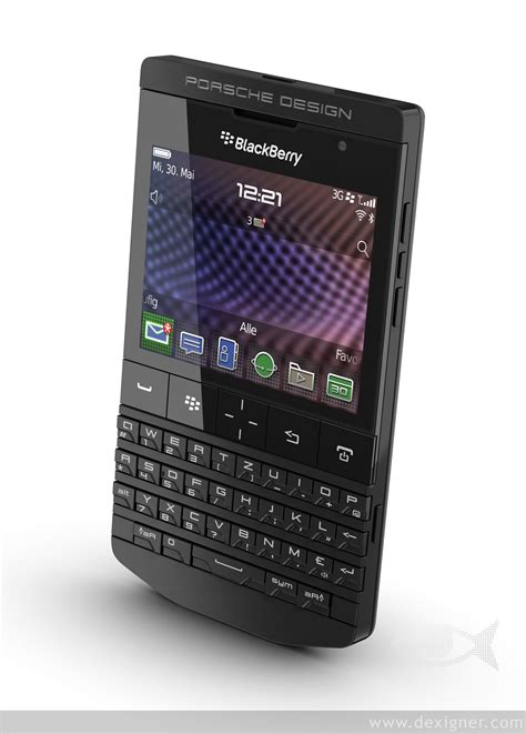blackberry porsche design porsche design s p 9981 blackberry matte black extravaganzi