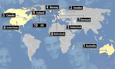 best place to work in world australia tops happiness league with uk at no 10 daily