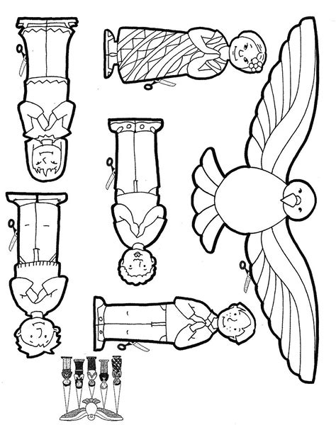 pentecost immagini coloring pages