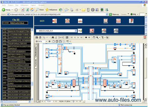 renault visu repair manuals wiring diagram