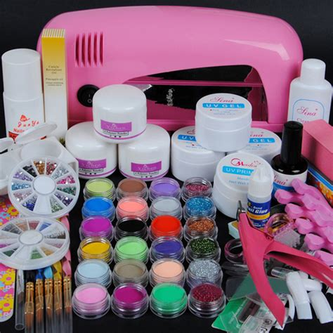 Nail Sets by Professional Nail Decoration Set Acrylic Nail Kit Set Or