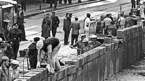 Honeckers Quot Gesellenst 252 Ck Quot Der Bau Der Berliner Mauer Mdr De