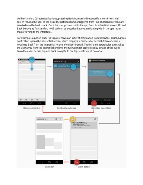 android design guidelines notifications android design guidelines 4 0