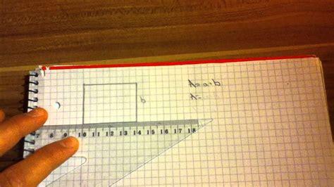 wandlen weiß fl 228 cheninhalt eines rechtecks berechnen so geht s