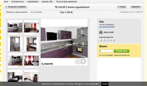 woning te huur aanbieden wohnungsbetrug http www speurders nl