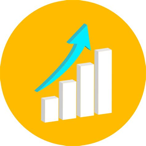 Home Interior Apps graph business stats statistics graphic bar chart