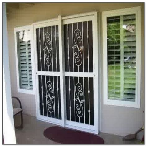 Sliding Glass Door Security Gate by Sliding Glass Door Security Gate Jacobhursh