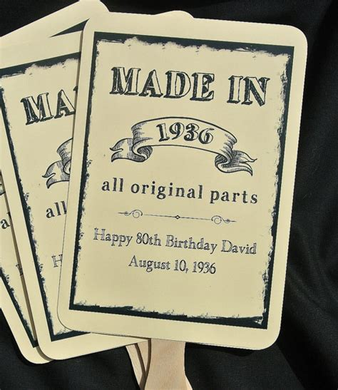 favors for adults birthday favors 80th birthday by abbeyandizziedesigns