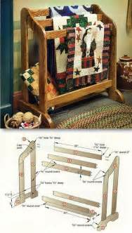 Wooden Quilt Rack Plans by Best 25 Quilt Racks Ideas On Farmhouse Quilts