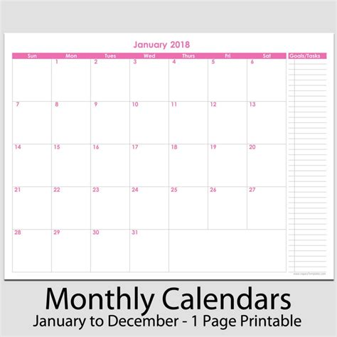 monthly one to one template search results for 2015 monthly planner printable a4 calendar 2015