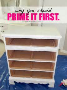 All you have to do to get the paint to adhere correctly is prime