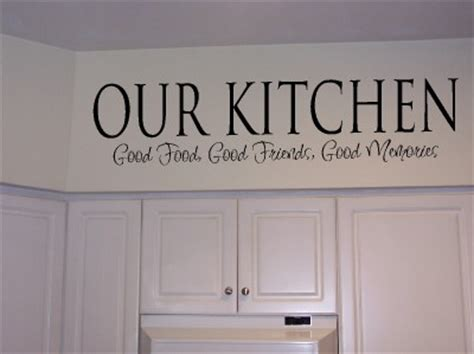 Word For Kitchen by Xpresivdesigns Vinyl Wall Lettering Kitchen Food Quote