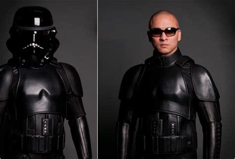 motor costume stormtrooper motorcycle suit