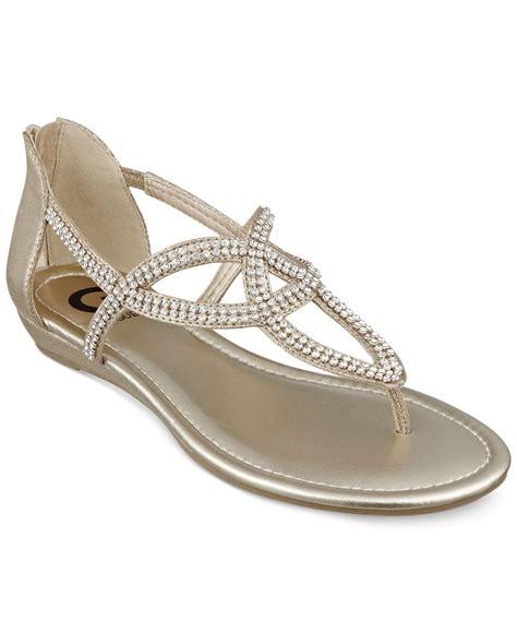 Flat Shoes G lyst g by guess s jamila rhinestone flat
