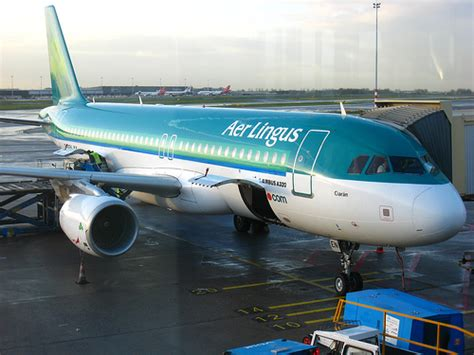 Aer Lingus Help Desk Cork Airport by Our Aer Lingus Plane For Cork Ireland At Schiphol Airpo