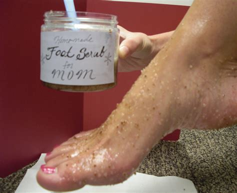 Foot Scrub lavender and mother s day foot scrub