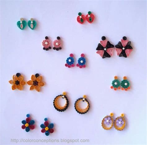 paper quilling beads tutorial 501 best quilling paper bead earrings 3 images on