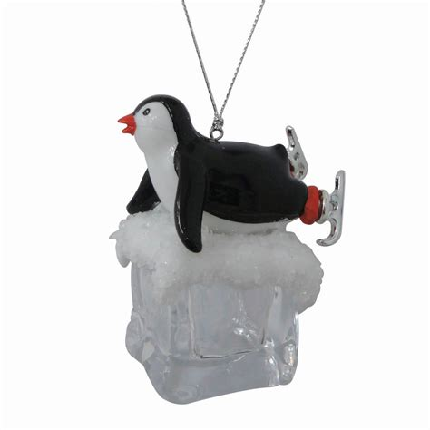 ice cube christmas tree trim a home 174 penguin cube acrylic ornaments fall on belly