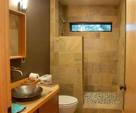 Doorless Shower Designs For Small Bathrooms Doorless Walk In Shower For The Home
