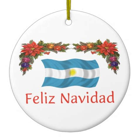 argentina christmas christmas tree ornaments zazzle