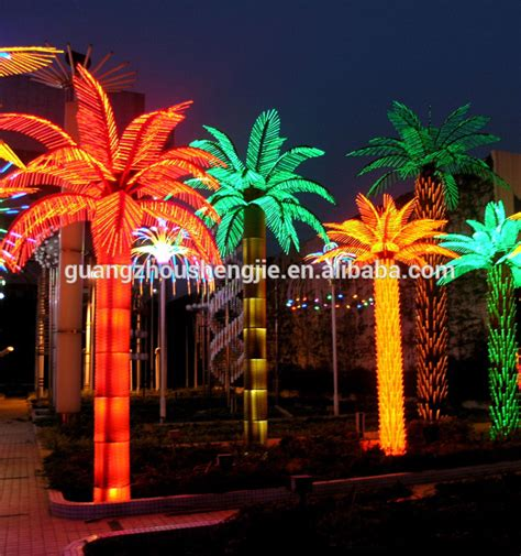 outdoor light up tree outdoor lighted artificial palm trees meideas