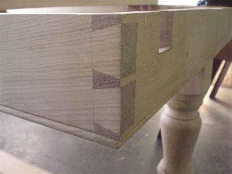 Handmade Dovetail Joints - dovetail joint hf handmade oak furniture