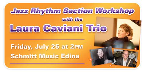 jazz rhythm section workshop with caviani at