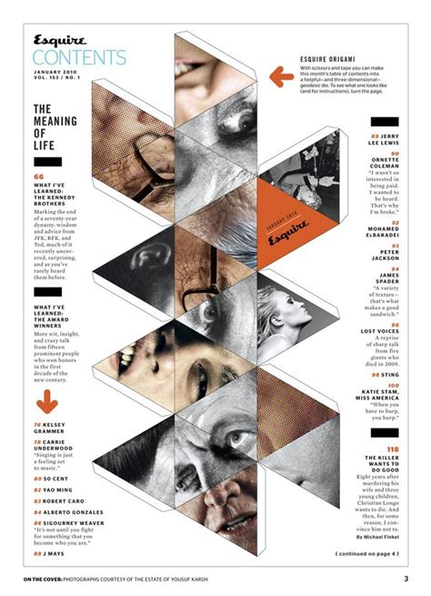 magazine layout rules pdf 19 best magazine table of contents contributors images