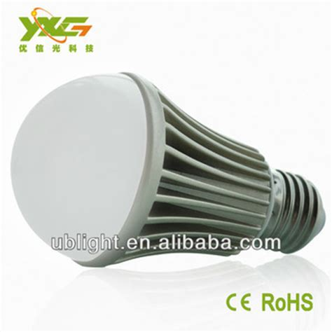 low heat light bulbs high quality 5w e27 aluminum energy saving led bulbs low