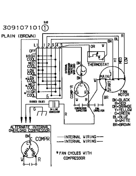 goodman heat defrost board wiring diagram