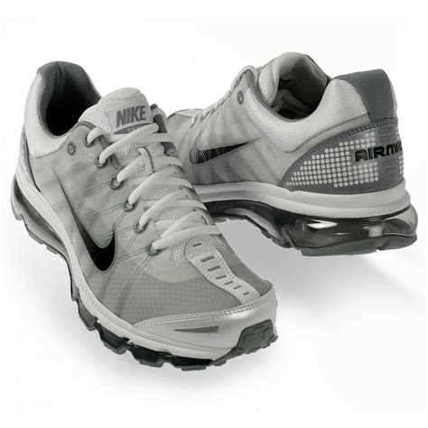 Nike Air Max 2009 Mens by Nike Air Max 2009 Mens Size Classic Running Shoes White Black Stealth 486978 101 Ebay