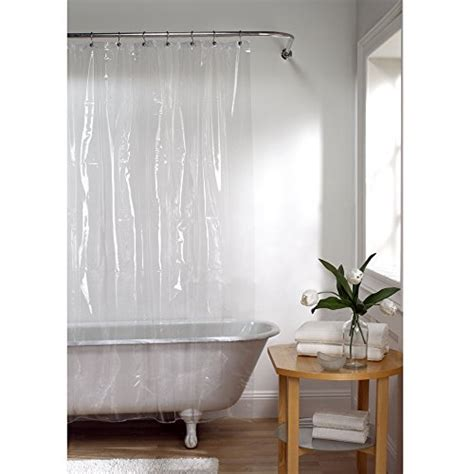 grommet shower curtain liner maytex no more mildew 10 gauge shower curtain liner with