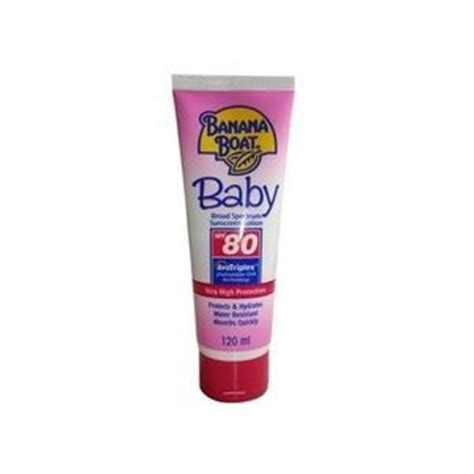 banana boat baby sunscreen banana boat baby spf 80 sunscreen lotion reviews
