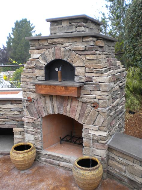 Oven Fireplace by Outdoor Kitchen On Outdoor Pizza Ovens Pizza