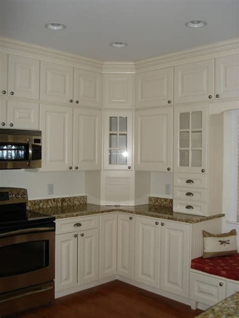 Stacked Kitchen Cabinets Stacking Stock Cabinets Traditional Dc Metro By Creative Karpet Kitchen Designs Inc