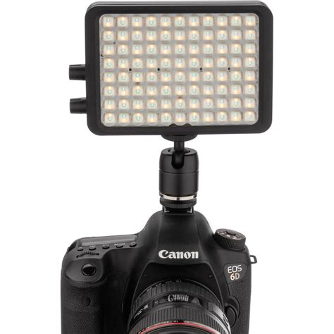 best on camera led light luxli viola 5 quot on camera rgb led light orc viola 5 b h