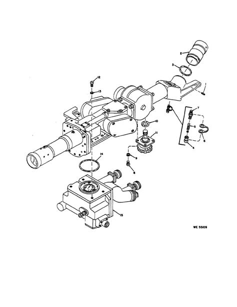 Figure 3 3 Eyepiece Assembly Diopter Knob And Reticle