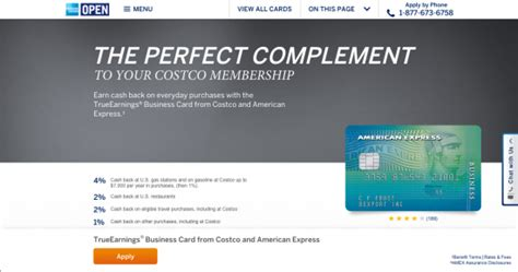 Costco Business Credit Card Requirements